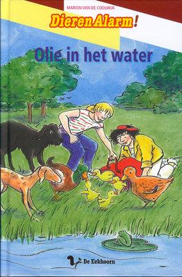 Dieren alarm Olie in het water